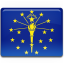 Indiana-Flag icon