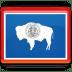 Wyoming-Flag icon