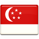 Singapore Flag icon