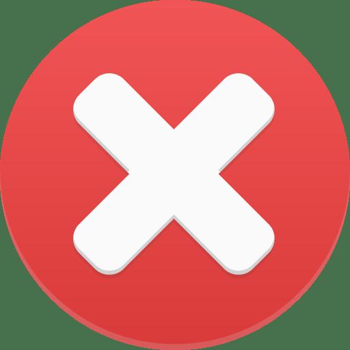 delete 1 icon