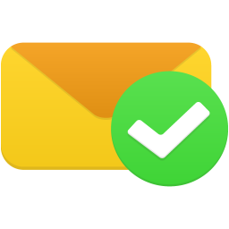 Email validated icon
