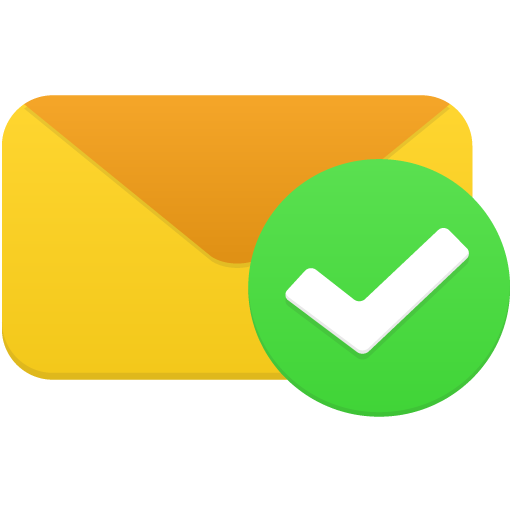 Email-validated icon