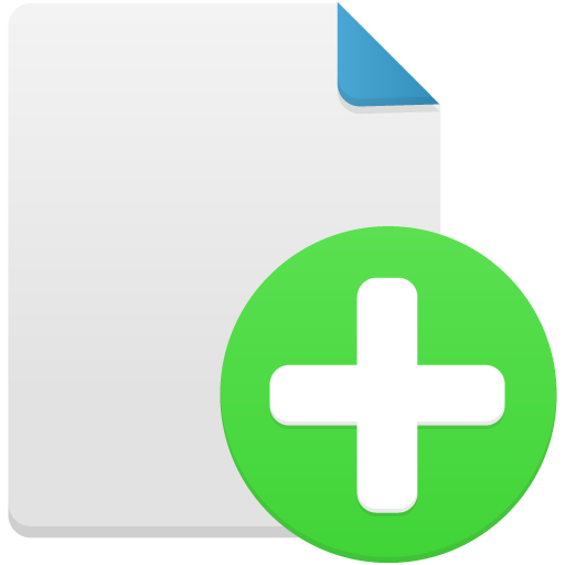 New-file icon