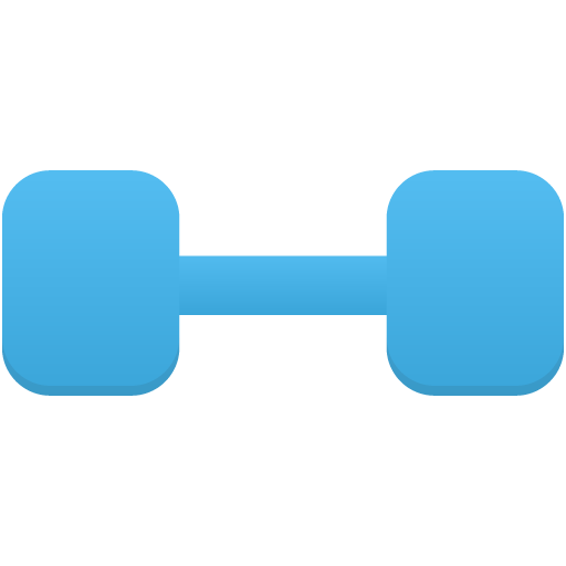Sport-dumbbell icon