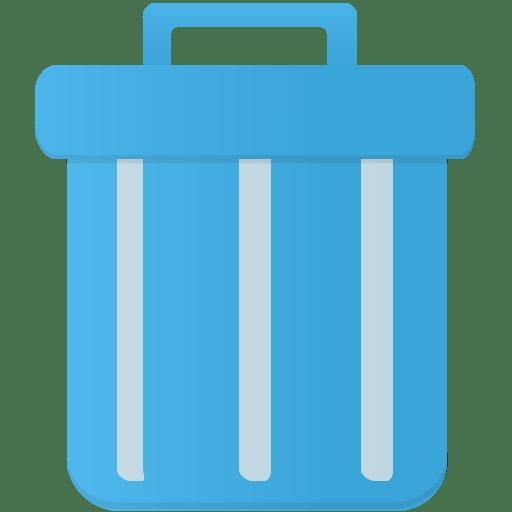 Trash Icon | Flatastic 10 Iconset | Custom Icon Design