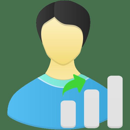 User-Skill-gap icon