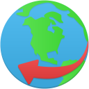 Globe service icon
