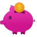Piggy-bank icon