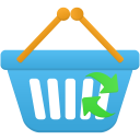 Shopping basket refresh icon