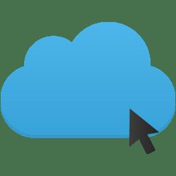 Click cloud icon