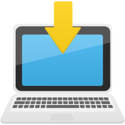 Download to laptop icon