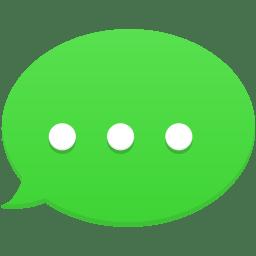 text message icon flatastic 11 iconset custom icon design