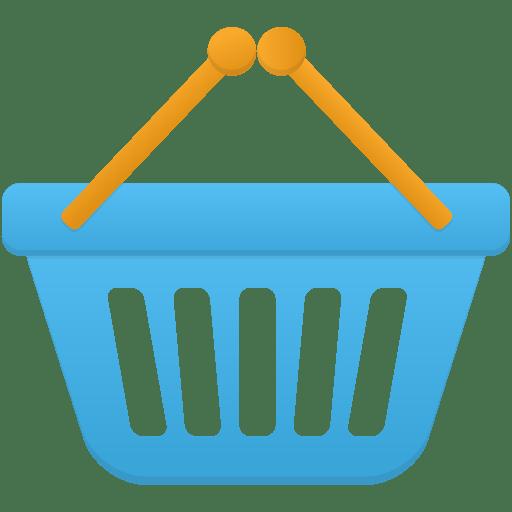 Shopping basket Icon | Flatastic 11 Iconset | Custom Icon ... Shopping Basket Icon Png