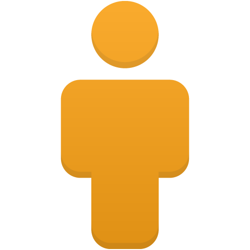 User-orange icon
