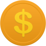 Coin-us-dollar icon