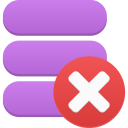 data delete icon