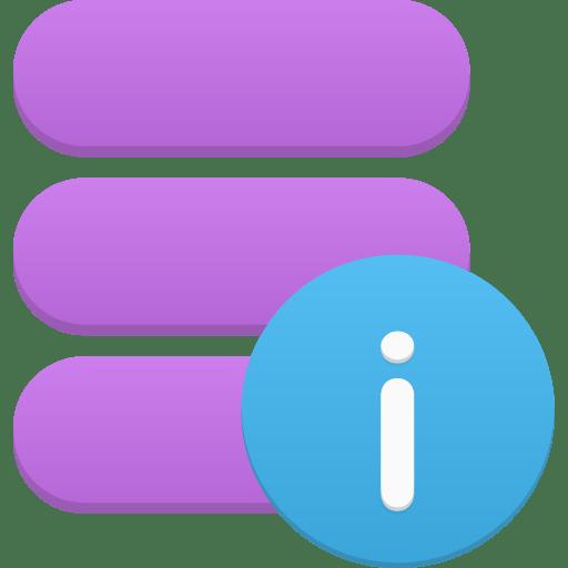 Data-info icon