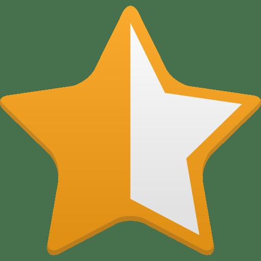 Star-half-full icon