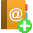 addressbook add icon