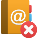 Addressbook-delete icon