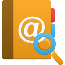 addressbook search icon