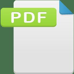 Filetype pdf icon