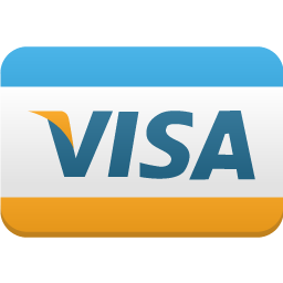 Payment creditcard visa icon