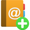 Addressbook-add icon