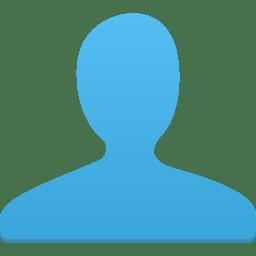 User blue icon