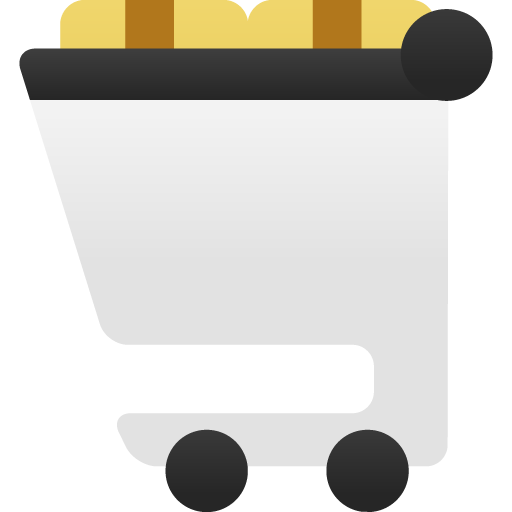 Shopping-cart-full icon