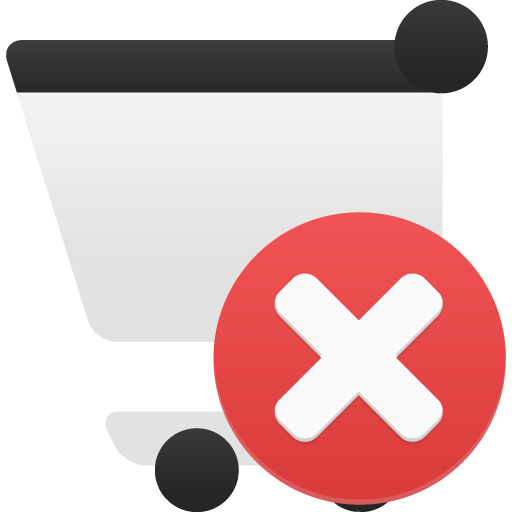 Shopping-cart-remove icon