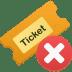 Ticket-remove icon