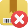 Package-delete icon