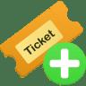 Ticket-add icon