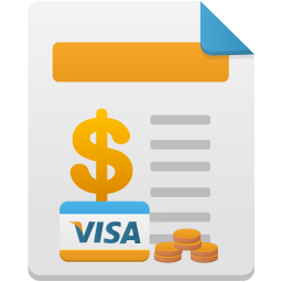 Sales by payment method icon