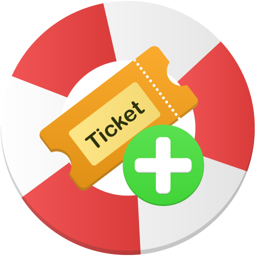 Create-ticket icon