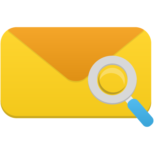 Mail-search icon