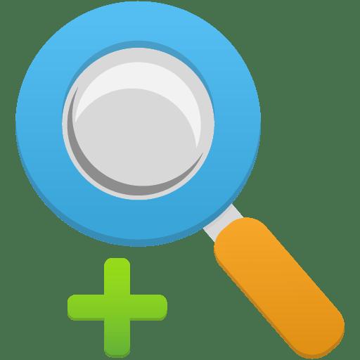 Zoom in Icon | Flatastic 5 Iconset | Custom Icon Design