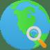 Search-globe icon