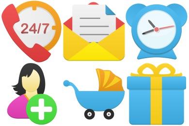 Flatastic 5 Icons