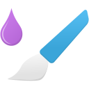 Mixer-brush-tool icon