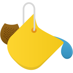 3d material drop tool icon