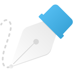 Freeform pen tool icon