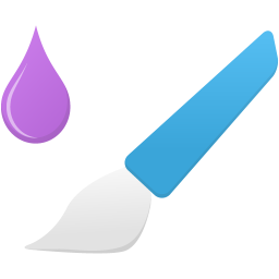 Mixer brush tool icon