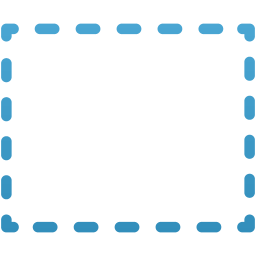 Rectangular marquee tool icon