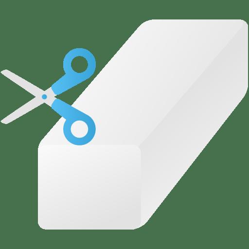 Background-eraser-tool icon
