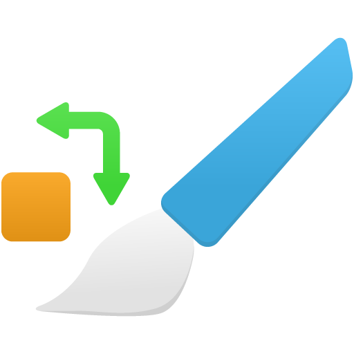 Color-replacement-tool icon