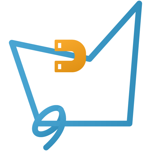 Magnetic-lasso-tool icon