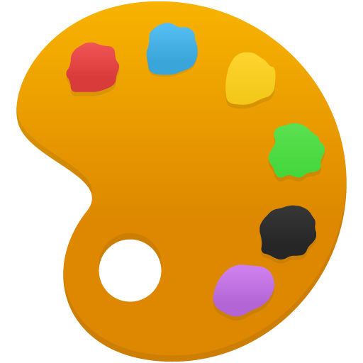 Palette Icon | Flatastic 6 Iconset | Custom Icon Design