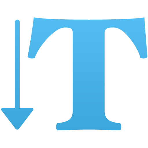 Vertical-type-tool icon